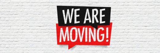 We gaan verhuizen